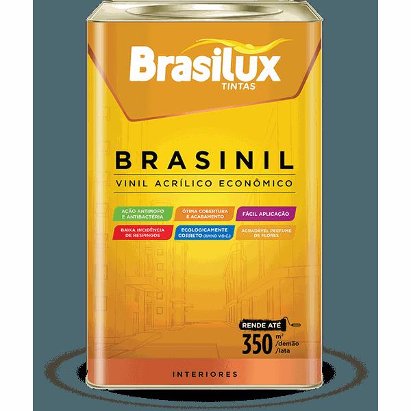 BRASINIL ACRILICO BRANCO NEVE 18L