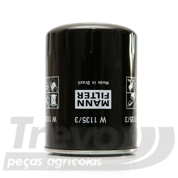 Filtro do Motor do Valtra 836647133