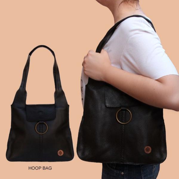 HOOP BAG PRETA