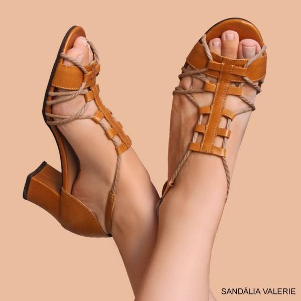 SANDÁLIA VALERIE AMARELA