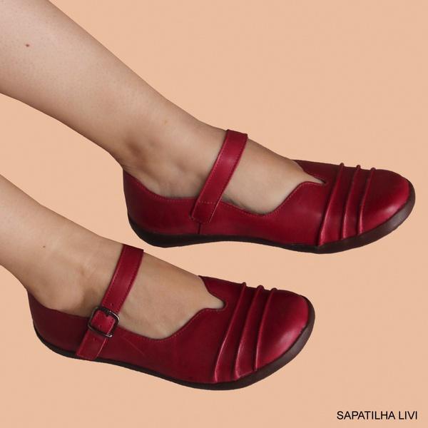SAPATILHA LIVI RED