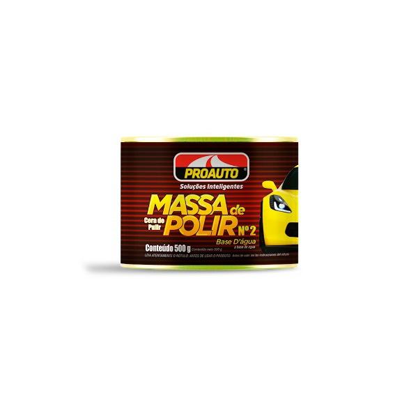 MASSA DE POLIR Nº 2 - 500G