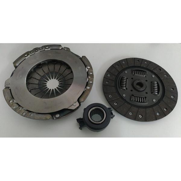 Kit de embreagem Marea 2.0 20v 1999 a 2000, Marea 2.4 20v 1999 a 2003 e Marea 2.0 Turbo 20v. Diametro 228mm e 20 estrias. Kit com Platô, disco e rolamento - MK9547
