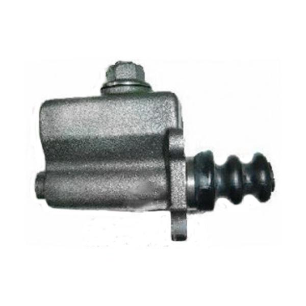 Cilindro mestre freio F350 1974 a 1975, F400 1975 a 1977 e F4000 1975 a 1984. Detalhe com reservatorio fixo (ferro) - CM1370