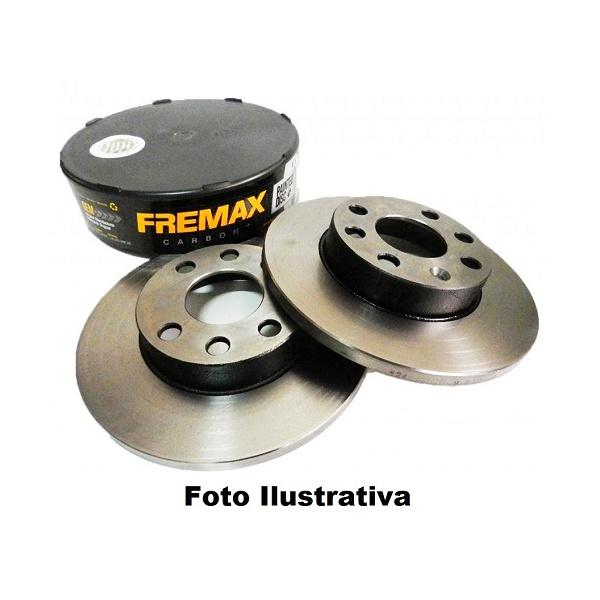 Par de disco de freio traseiro Citroen Jumper, Fiat Duacato e Peugeot Boxer 2.3, 2.5 e 2.8. Todos os modelos com roda aro 15