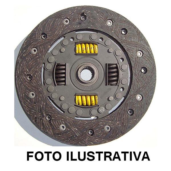 Disco embreagem Gol, Parati, Passat, Saveiro, e Voyage 1.0/1.5/1.6. Diametro 190mm e 24 estrias. - 5719