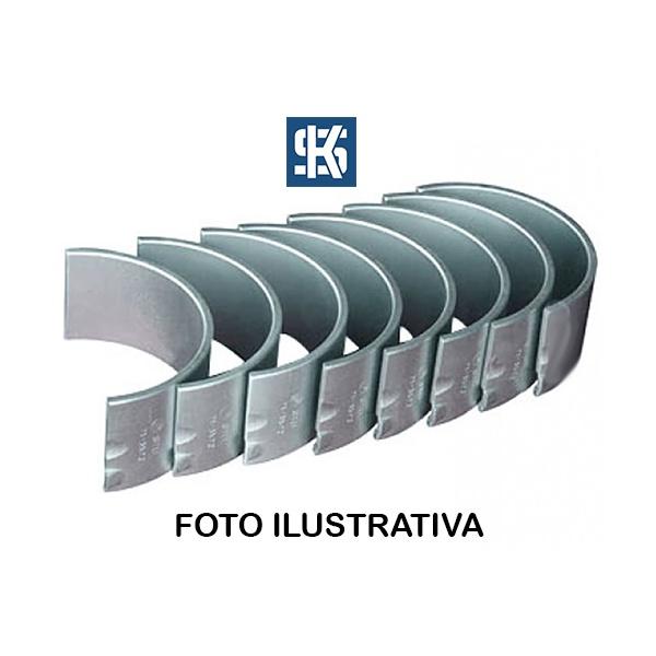 Bronzina de biela 1,00 Elba, Fiorino, Palio, Premio, Siena, Strada e Uno 1.5/1.6 8/16V Argentino (Sevel) - 77769640