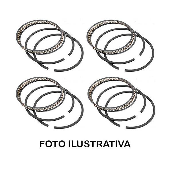 Jogo de aneis 0,50 Fiesta e Ka 1.0 Endura 1996 a 1999 - SLN7242 050