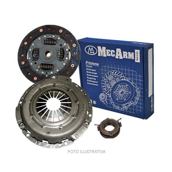 Kit de embreagem Mercedes sprinter 311 CDi, 313 CDi e 413 CDi 2001 a 2004. Diametro 240mm e 26 estrias - MK9184