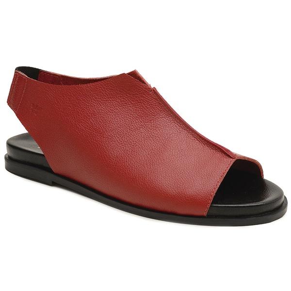 Sandália Confort Nuvem- 843-01 Vermelho