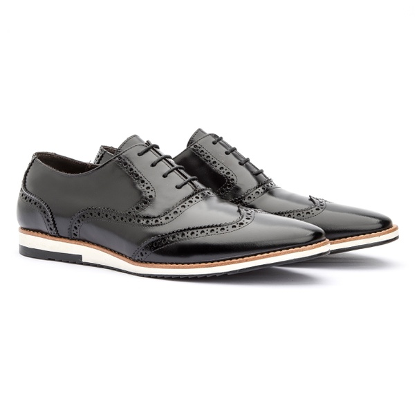 Sapato Oxford Casual England Preto