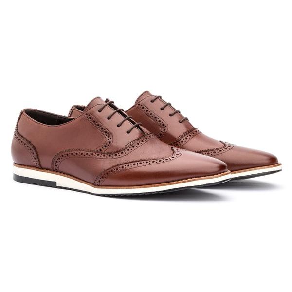 Sapato Oxford Casual England Mouro