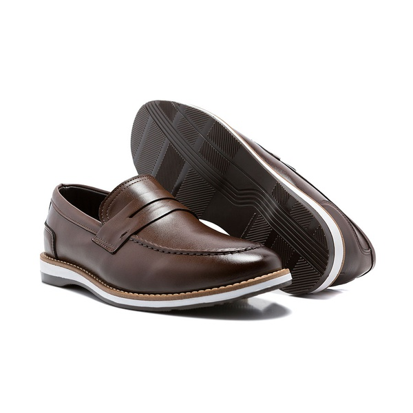 SAPATO CASUAL FRANSHOES DERBY MOSK CAPUCCINO