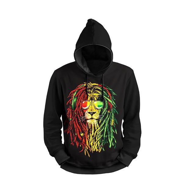 Moletom Jamaica Lion FF Full Print 3d Use Nerd