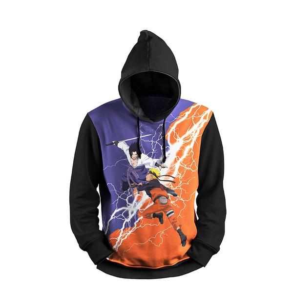 Moletom Naruto Sasuke 1 FF Full Print 3d Use Nerd