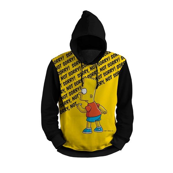 Moletom Bart Simpson Full Print 3d Use Nerd