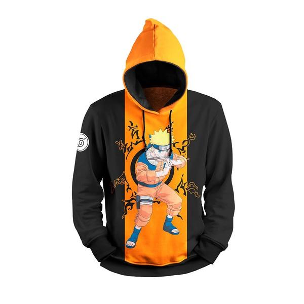 Moletom Naruto Full Print 3d Use Nerd