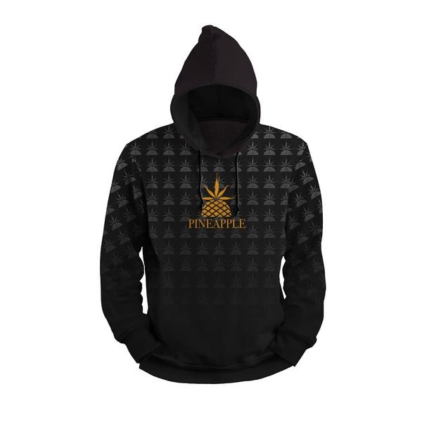 Moletom Pineapple Full Print 3d Use Nerd