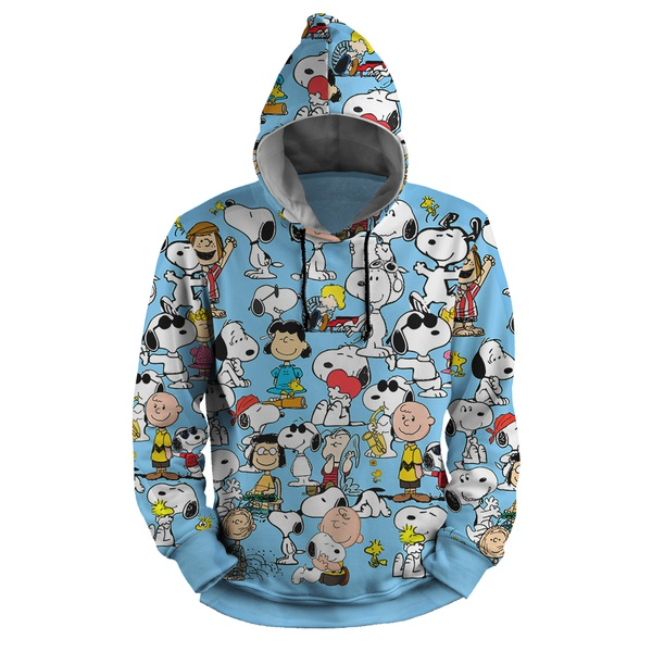 Moletom Snoopy Full Print 3d Use Nerd