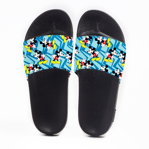 Chinelo Slide Masculino Mickey Mouse Azul Use Nerd