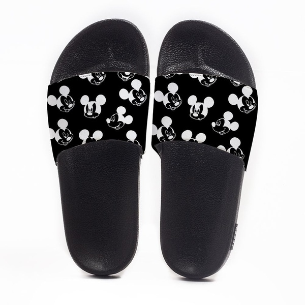 Chinelo Slide Masculino Mickey Mouse Black Use Nerd