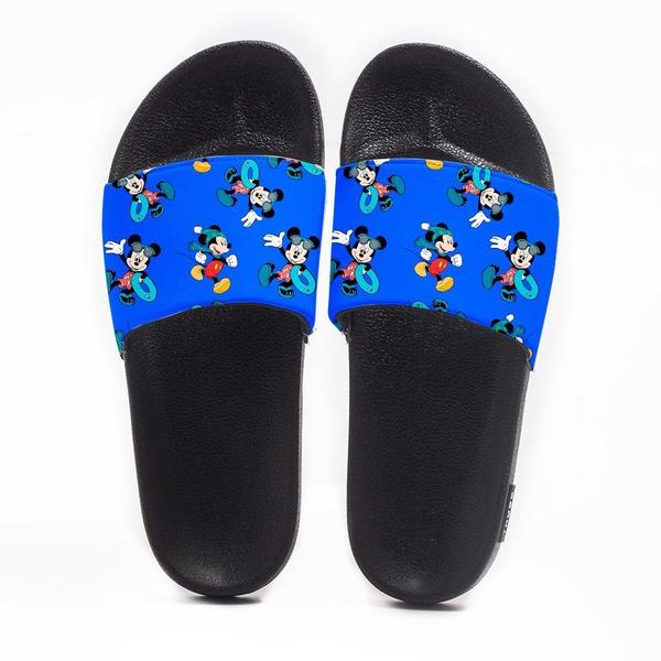 Chinelo Slide Masculino Mickey Mouse Nadador Use Nerd