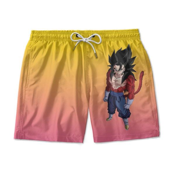 Short Praia Estampado Goku Use Nerd