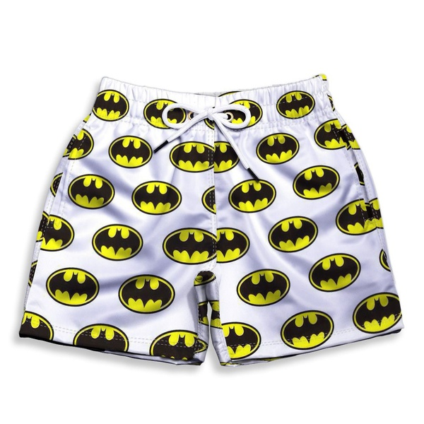 Short Praia Estampado Infantil Batman Use Nerd