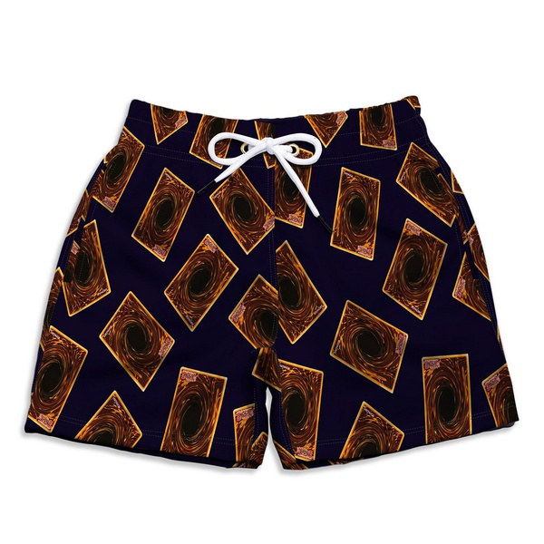Short Praia Estampado Infantil Hora do Duelo Use Nerd