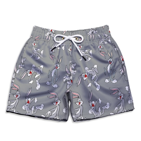 Short Praia Estampado Infantil Pernalonga Use Nerd