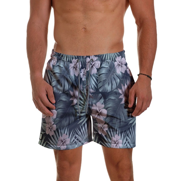 Short Praia Masculino Tropical Flowers Use Thuco