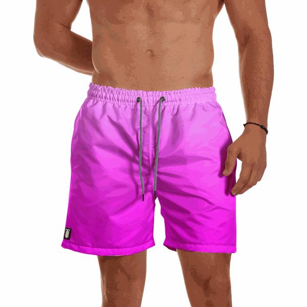 Short Praia Masculino Rosa Degrade Use Thuco