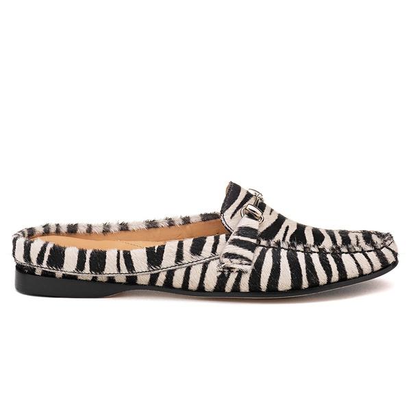 Mocassim Feminino, Casual - Vw2651 / Zebra