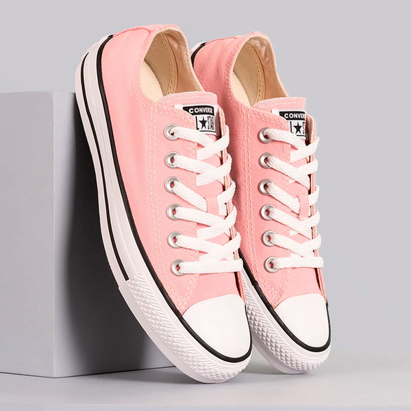 Tênis Converse Chuck Taylor All Star Seasonal Ox rosa
