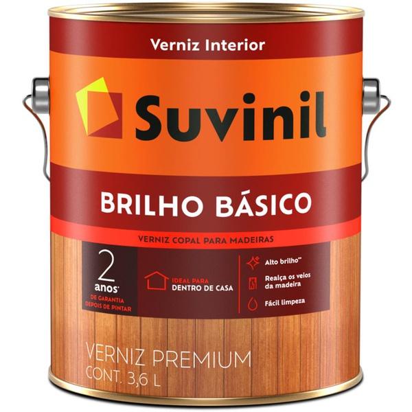 VERNIZ COPAL BRILHO BASICO NATURAL 3,6L 53392715-SUVINIL