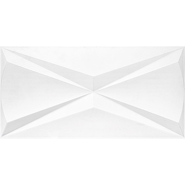PORCELANATO PP CUBIC WHITE RETIFICADO ACETINADO 30X60CM FJH015701-ROCA