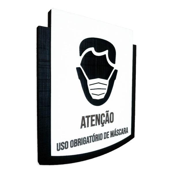 Placa De Sinalização | Uso de Máscara
