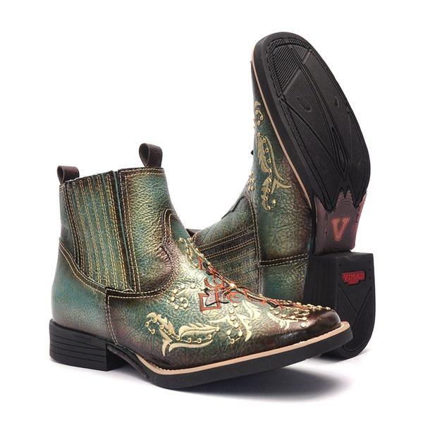 Botina Feminina - Ice Cream - Vimar Boots - 12173-C-VR