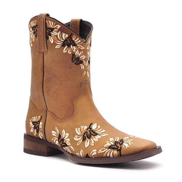 Bota Feminina - Fóssil Caramelo - Nevada - Vimar Boots - 13092-A-VR