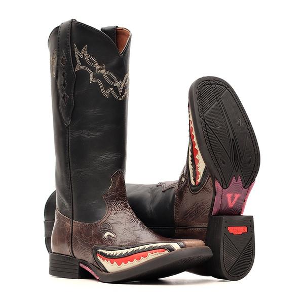 Bota Feminina - Shark Design - EDIÇÃO LIMITADA - Vimar Boots - 13143-A-VR