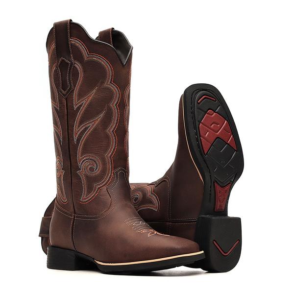 Bota Feminina - Dallas Castor - VTS - Bulls Horse - 53016-D-BU