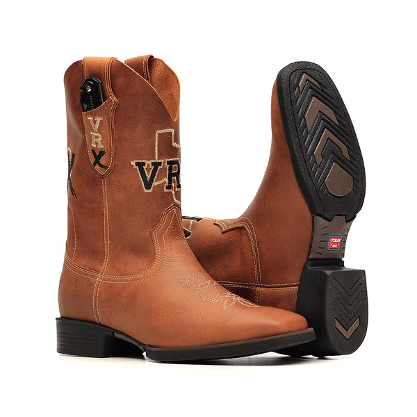 Bota Masculina c/ Canivete Incluso - Dallas Bambu - Texas B - Vimar Boots - 54001-A-VR