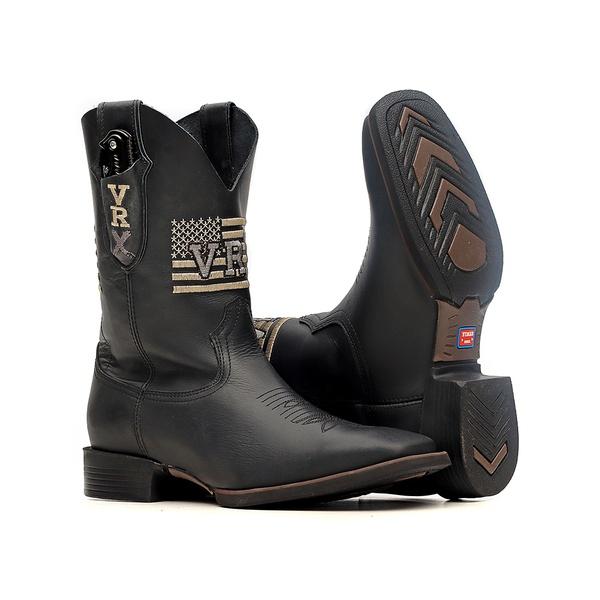 Bota Masculina c/ Canivete Incluso - Fóssil Preto - Texas B - Vimar Boots - 54002-A-VR