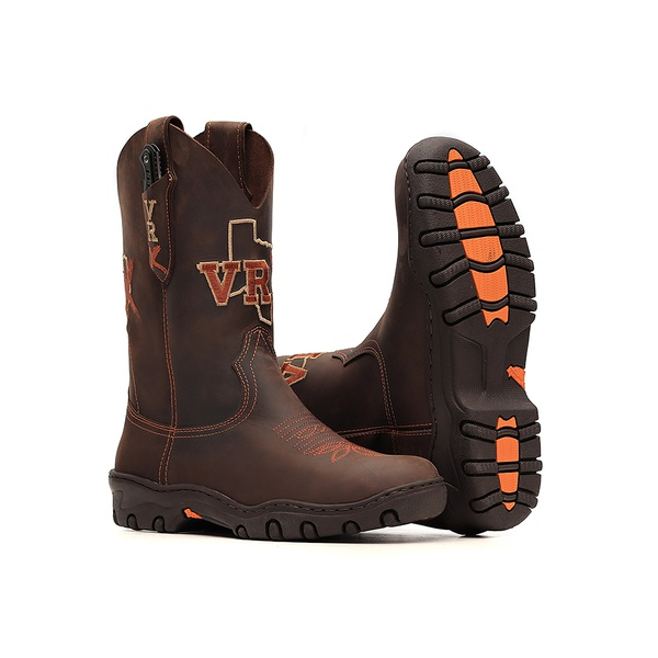 Bota Tênis Masculina c/ Canivete Incluso - Crazy Horse Café - Vimar Boots - 85032-A-VR