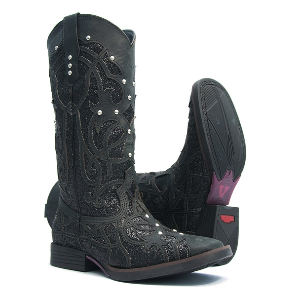 Bota Feminina - Santa Fé - Vimar Boots - 13089-B-VR