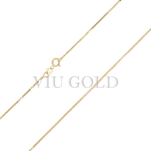 Corrente Veneziana de 50cm em ouro 18k amarelo