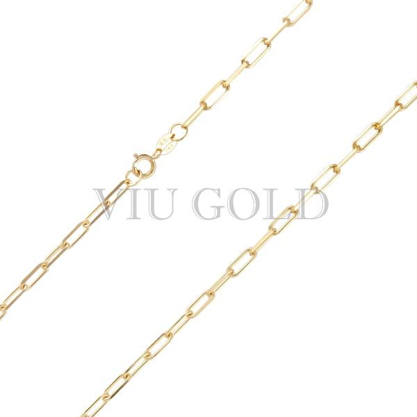 Corrente Cartier de 50cm em ouro 18k amarelo
