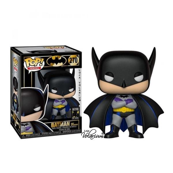 BONECO FUNKO POP BATMAN COM CAPA HEROES 270 EDIÇÃO ESPECIAL IMPORTADO ORIGINAL