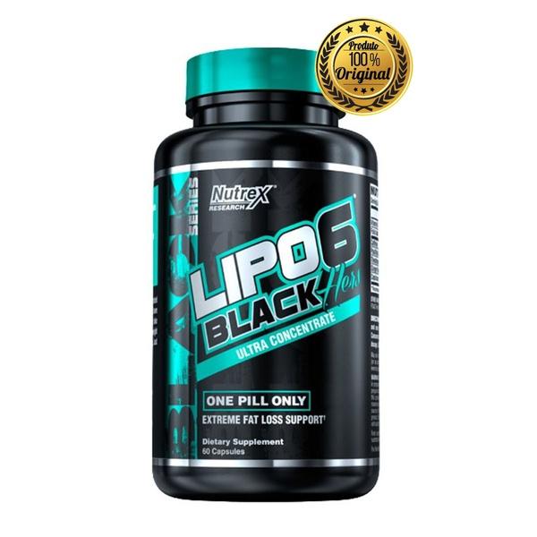 TERMOGENICO LIPO 6 BLACK HER ULTRA CONCENTRADO 60 CAPS