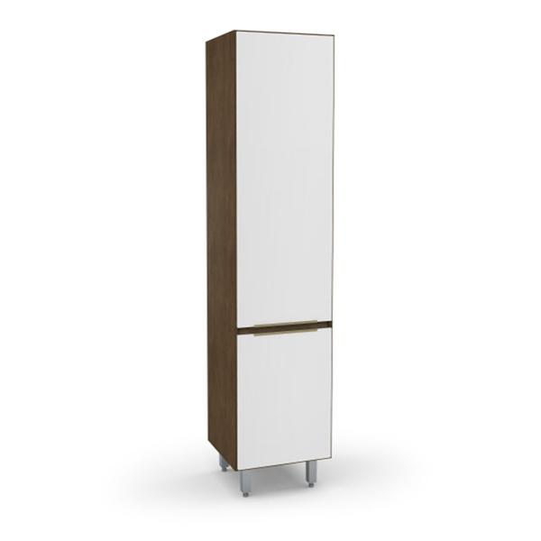 Paneleiro Para Cozinha New 5171.18 Madeirado / Branco - Batrol Móveis
